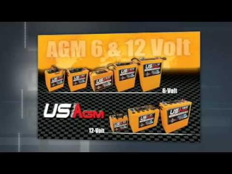US Battery Commercial - ISSA trade show 2010