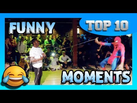 TOP 10 Funny Moments in Breakdance