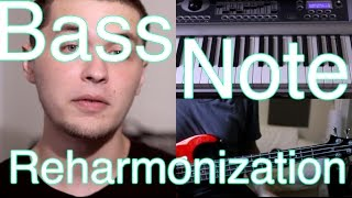 Bass Note Reharmonization