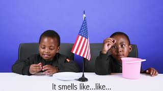 South African Kids Try American Snacks