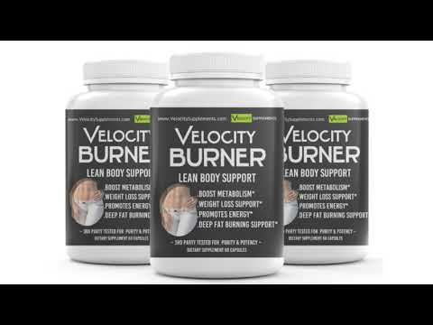 Velocity BURNER Weight Loss Pills 3