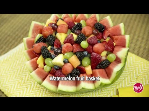 THAT'S USING YOUR MELON! Watermelon Basket