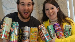 ARIZONA ICED TEA TASTE TEST CHALLENGE