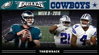 Rookie Stars Shine on SNF! (Eagles vs. Cowboys 2016, Week 8)