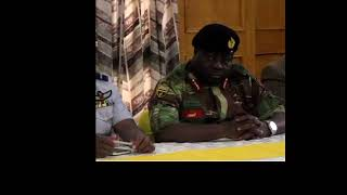 Zimbabwe military press conference in FULL