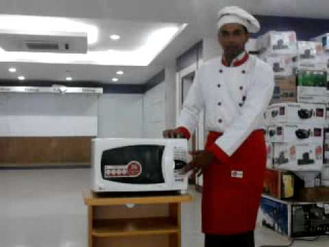 Lg Microwave Oven Cum Cookery Classes Demo Session Part 2