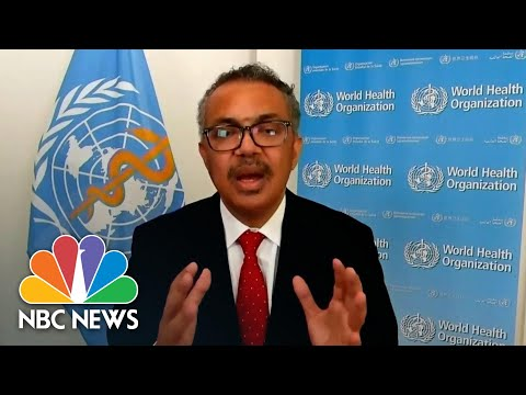 World Health Organization Chief Welcomes Biden Win | NBC News NOW