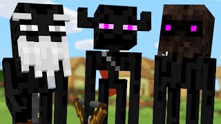 turns out Minecraft Enderman have relatives