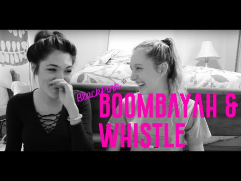 BLACKPINK - BOOMBAYAH & WHISTLE | MV Reaction