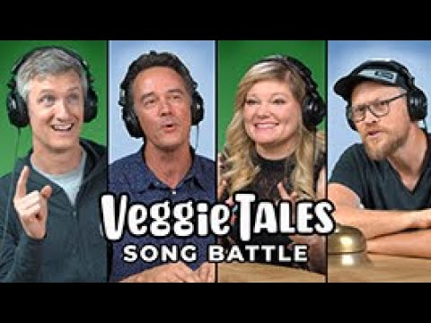 Larry the Cucumber Joins the Silly Song Battle! | with Andrew Peterson and Randall Goodgame