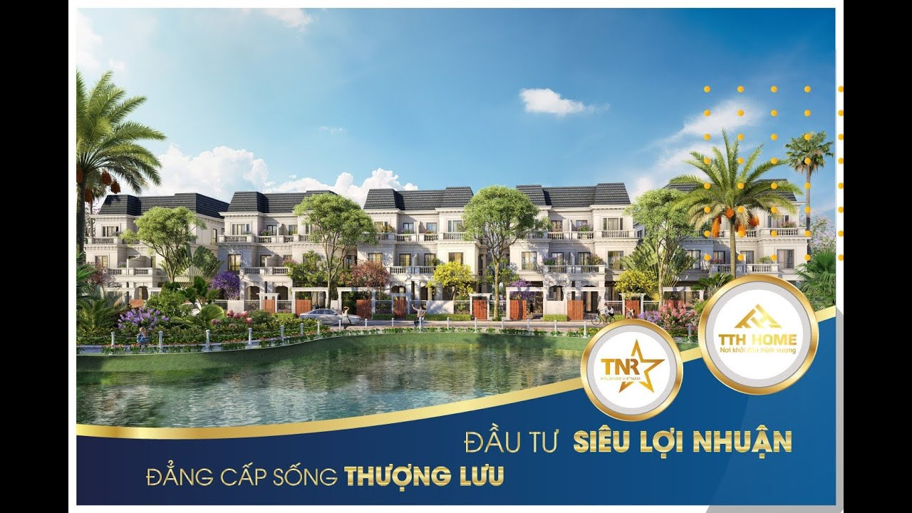 """Chính thức ra mắt """"đất vàng xứ Nghệ"""" KĐT TNR Stars Thái Hòa, chiết khấu cực cao, LH PKD 0962161985 video"""
