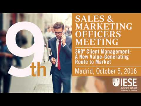 9th Sales & Marketing Officers IESE Industry Meeting