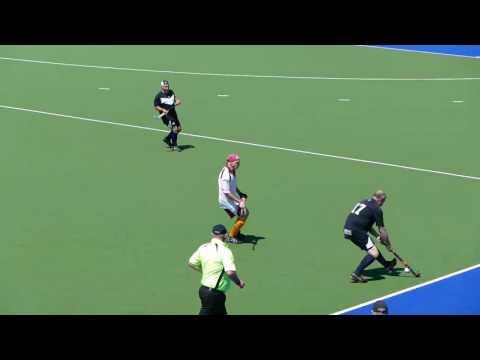 Qld 60's v VIC. Over 60 mens masters hockey. Australian championships Adelaide 2016