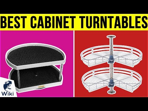 10 Best Cabinet Turntables 2019