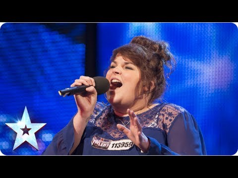 Rosie O'Sullivan singing 'Man's World' | Week 5 Auditions | Britain's Got Talent 2013