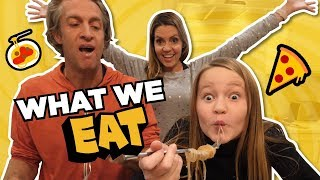 What we eat // MY HUSBAND IS LUCKY TO BE ALIVE // The Holderness Family