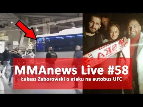 MMAnews Live #58: Łukasz Zaborowski o incydencie UFC 223 z Conorem McGregorem