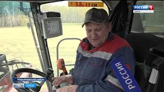 Аграрии намерены собрать 3 миллиона тонн зерна