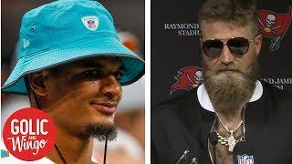 Dolphins' Minkah Fitzpatrick files 'Fitzmagic' trademark application   Golic & Wingo   ESPN