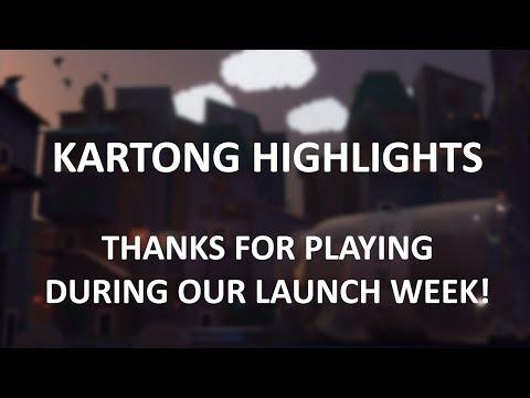 Kartong Launch week Highlights