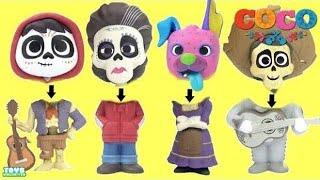 Disney PIXAR's COCO Movie WRONG HEADS, Miguel Rivera, Ernesto De La Cruz KOKO New Toys