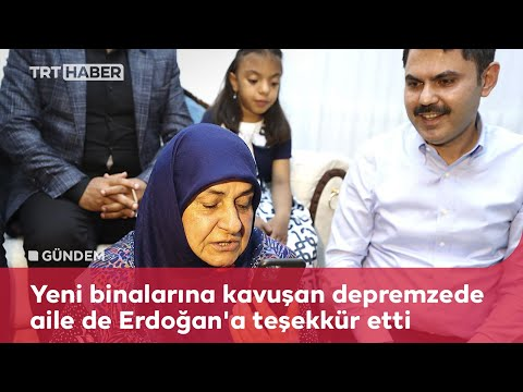 Cumhurbaşkanı Erdoğan, depremzede aileyle telefonda görüştü