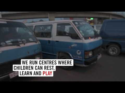 Addis Ababa bus station - Let's Play for Change Campaign 2017