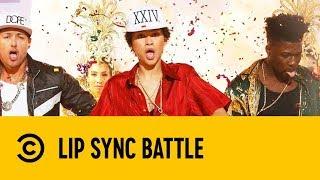 Zendaya Performs Bruno Mars'
