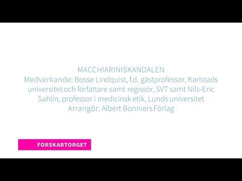 Forskartorget 2018 - Macchiariniskandalen