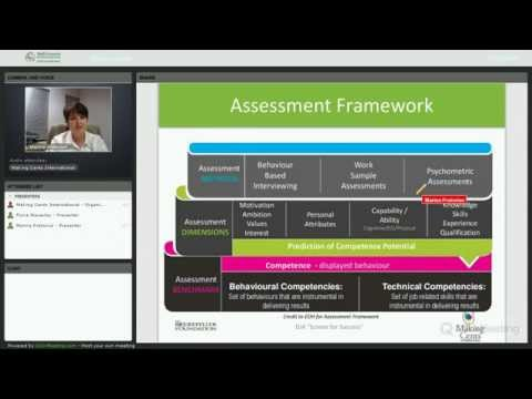 Webinar on Youth Employment Program Screening: Assessment Framework