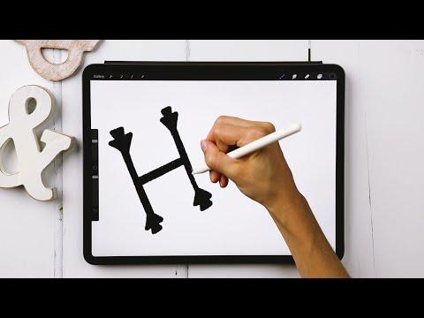 Serif + Sans Serif Lettering the RIGHT Way