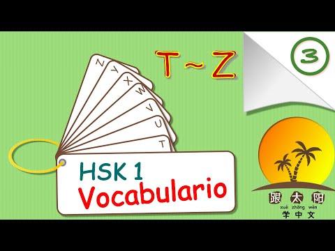 Estudiar chino mandarín lección 41 ➡️ repaso final del vocabulario HSK1 ❤️ 3ª parte