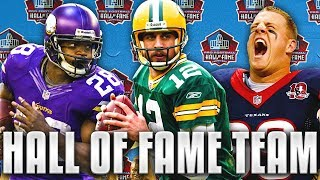 ALL HALL OF FAME TEAM! FUTURE FOOTBALL GREATS! Madden 19 Ultimate Team