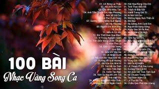 100 Bài nhạc vàng bolero song ca nghe hoài không chán - Liên Khúc Rừng Lá Thấp, Hỏi Anh Hỏi Em
