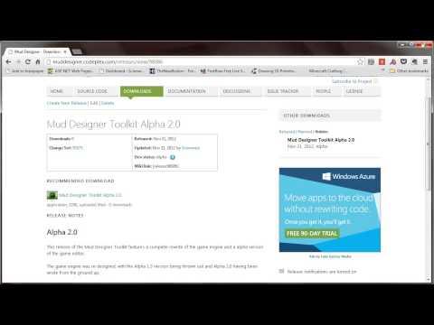 Mud Designer Toolkit Training Video #1
