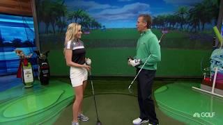 The Golf Fix: Paige Spiranac Shows Us Her Go-To Shot & Routine | Golf Channel