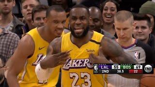 Los Angeles Lakers vs Boston Celtics 1st Half Highlights   January 20, 2019-20 NBA Season