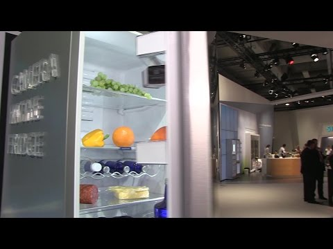 Camera in the fridge: BSH employees explain the advantages of connected refrigerators