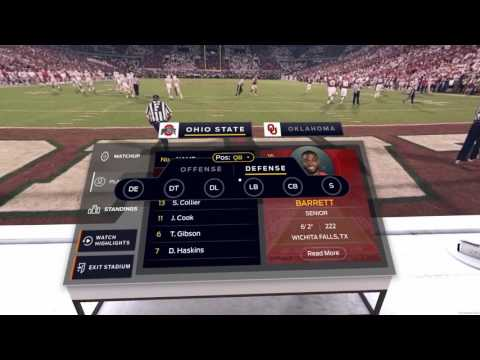 Texas/Oklahoma Game Will Be Broadcast in Virtual Reality