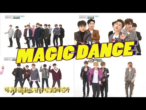 Magic Dance - Seventeen + iKON + Infinite + SHINee [Weekly Idol]