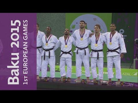Full Replay of the Men's Team Judo | Judo | Baku 2015 European Games