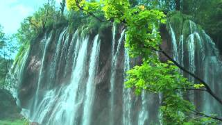 PLITVICE Lakes National Park-CROATIA.Masterpiece of nature!Walking Tour.Full HD