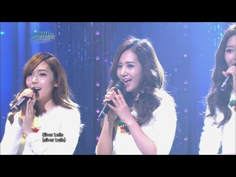 【TVPP】SNSD - Silver Bells, 소녀시대 - 실버벨 @ SNSD's Christmas Fairy Tale