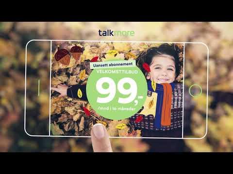 Talkmore - Bilige mobilabonnement med full Telenor-dekning
