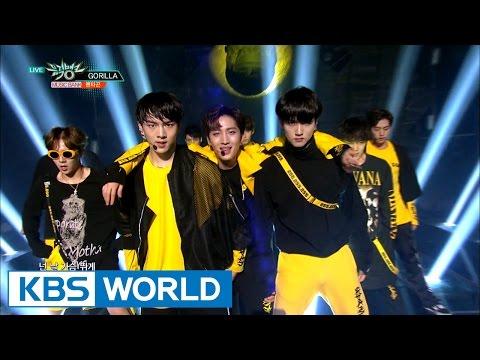 PENTAGON (펜타곤) - Wake up / Gorilla [Music Bank Hot Debut / 2016.10.14]