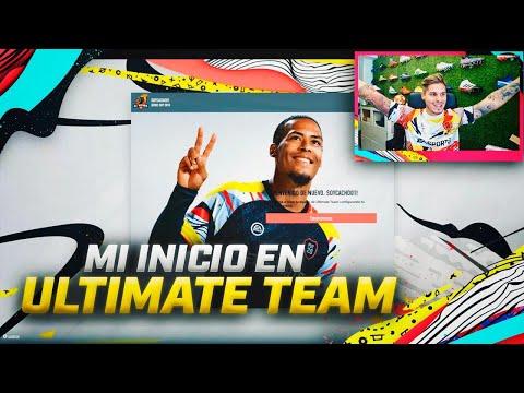 ASI HE COMENZADO EN LA WEB APP DE ULTIMATE TEAM!! | FIFA 20