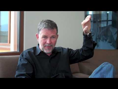 Netflix CEO Reed Hastings interviewed by VideoNuze's Will ...