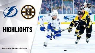 Lightning @ Bruins 10/17/19 Highlights