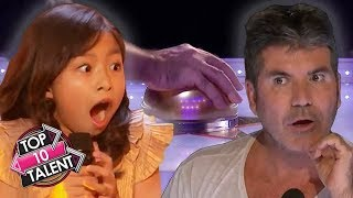 TOP 10 GOLDEN BUZZER Auditions Around The World!
