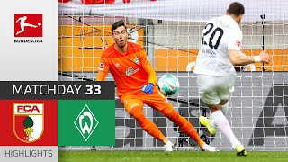 FC Augsburg - SV Werder Bremen | 2-0 | Highlights | Matchday 33 – Bundesliga 2020/21